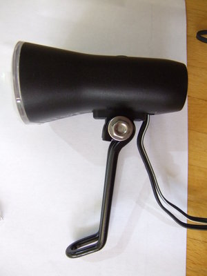 Philips Saferide Dynamo fitted with Edelux Bracket (1).JPG