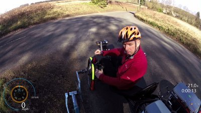 SUNDAY RIDE TO BURY WITH JON AND NIGEL, RECUMBENT POV-00-04-06-726.jpg
