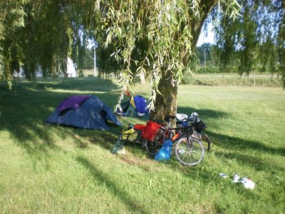 Charge, near the Loire (camping sauvage)  9th August 2013.JPG