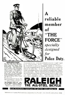 Raleigh police bike ad 1933.jpg